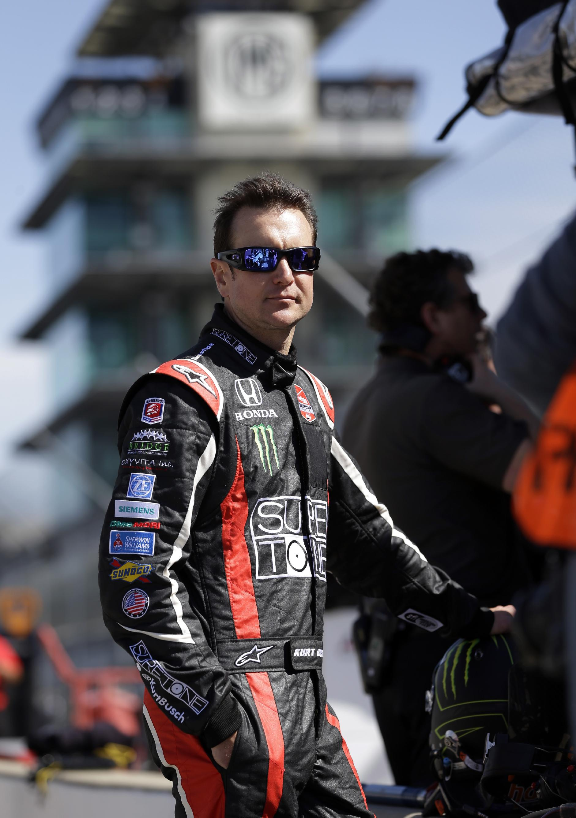 Kurt Busch getting comfortable in IndyCar testing