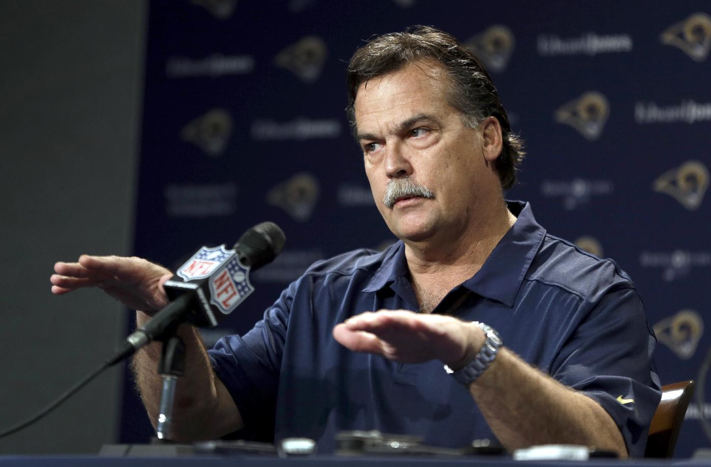 Fisher: Rams are not shopping Bradford