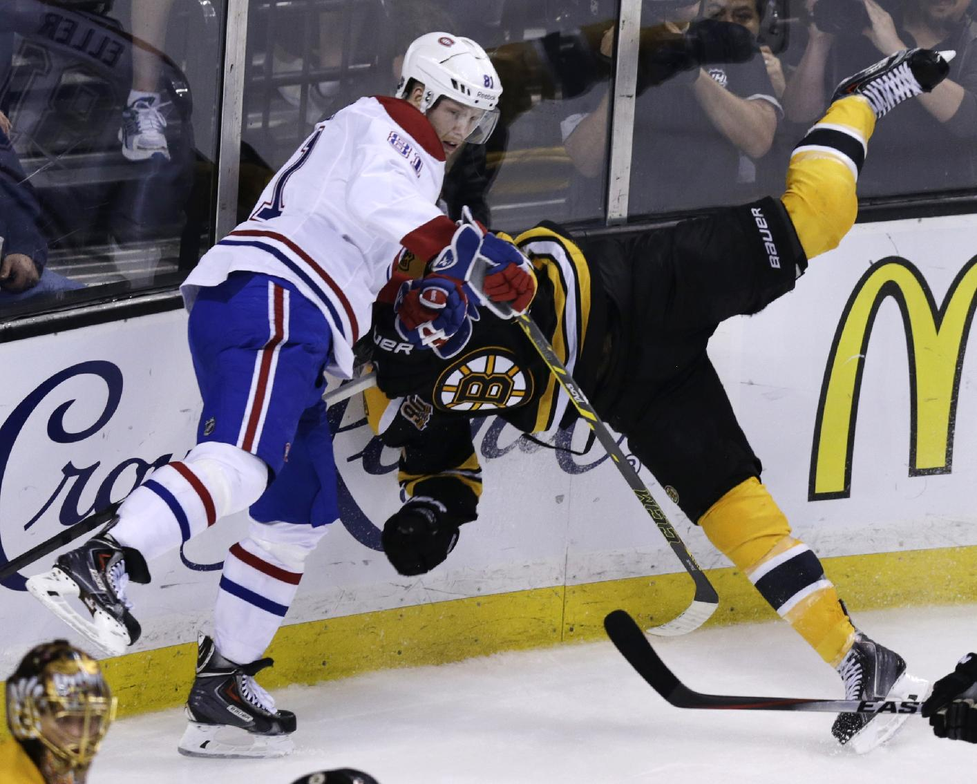 Bruins try to finish off Canadiens in Game 6