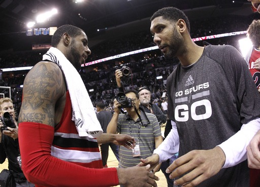 Spurs beat Blazers, back in West finals