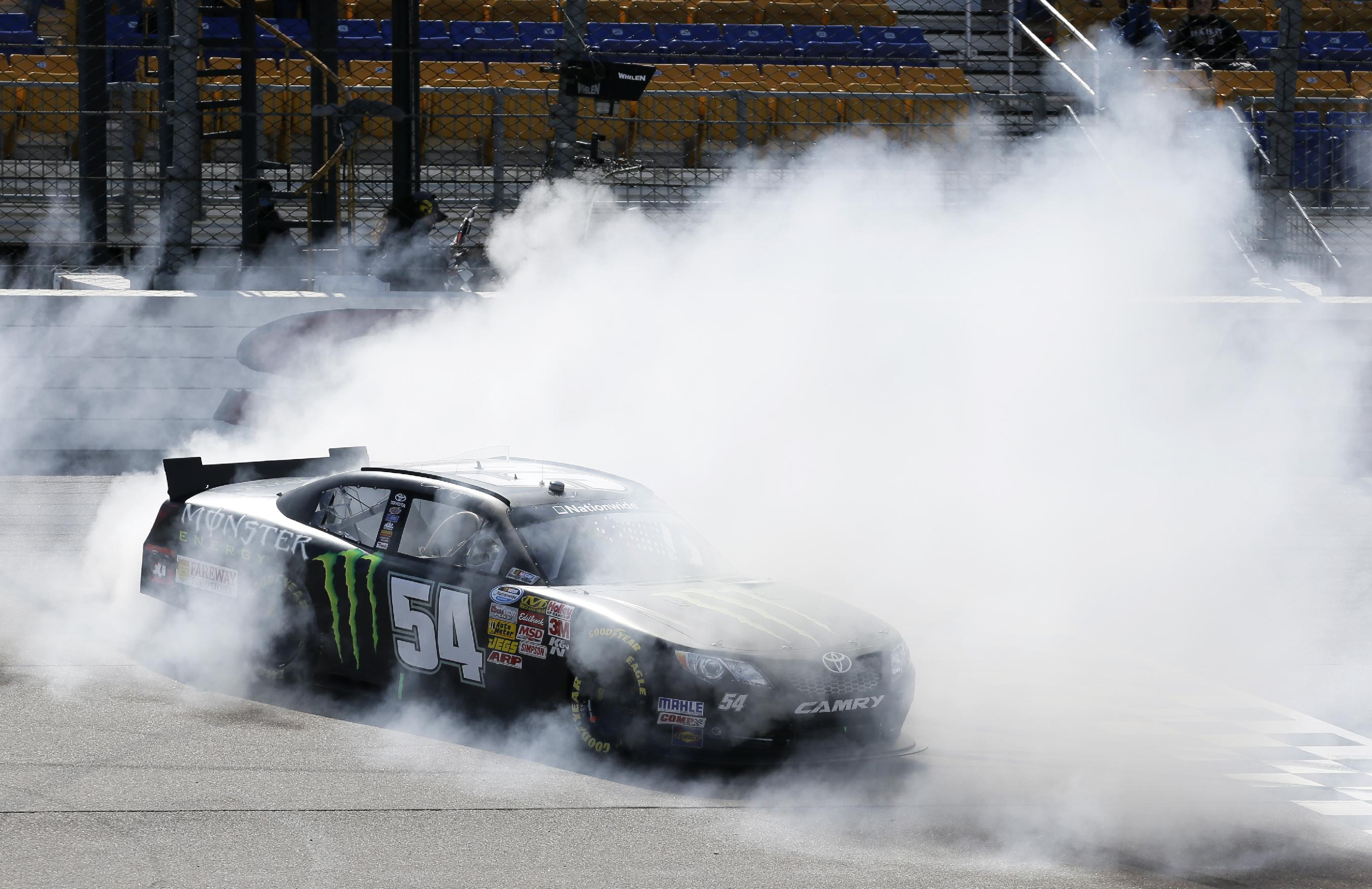 NASCAR's Hornish at peace despite uncertainty