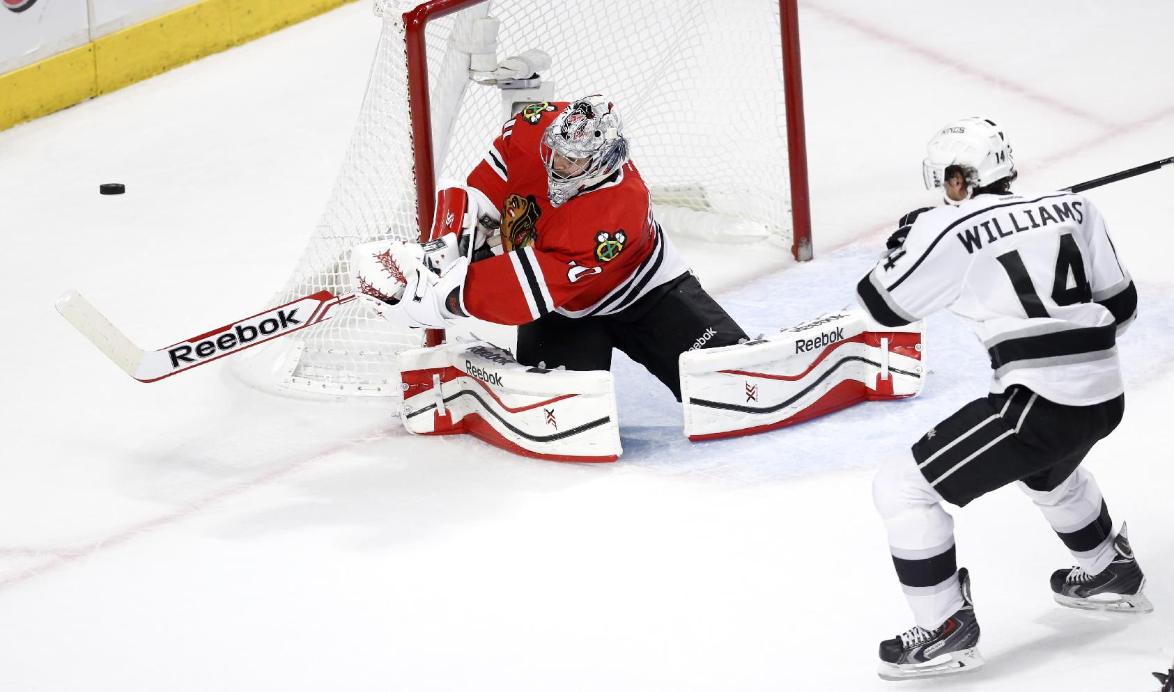 Better Than Ever: Blackhawks Goalie Corey Crawford In Full Playoff Flight