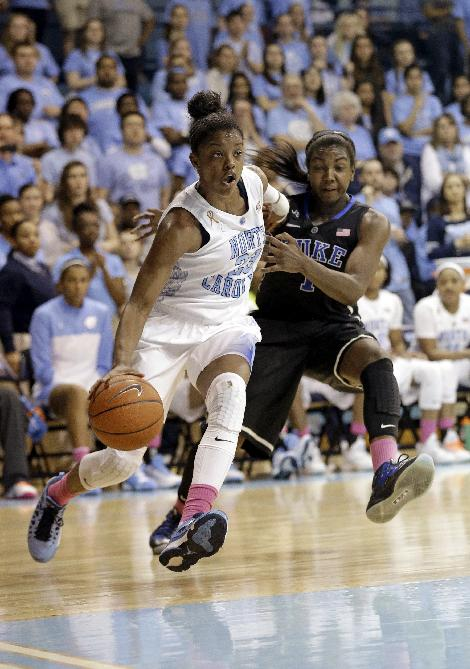 Ex-North Carolina star DeShields to join Lady Vols