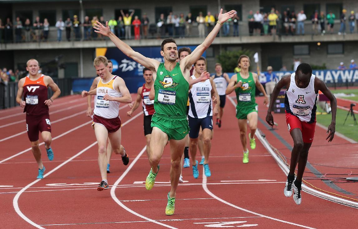 Fleet and Allen push Oregon men to team title