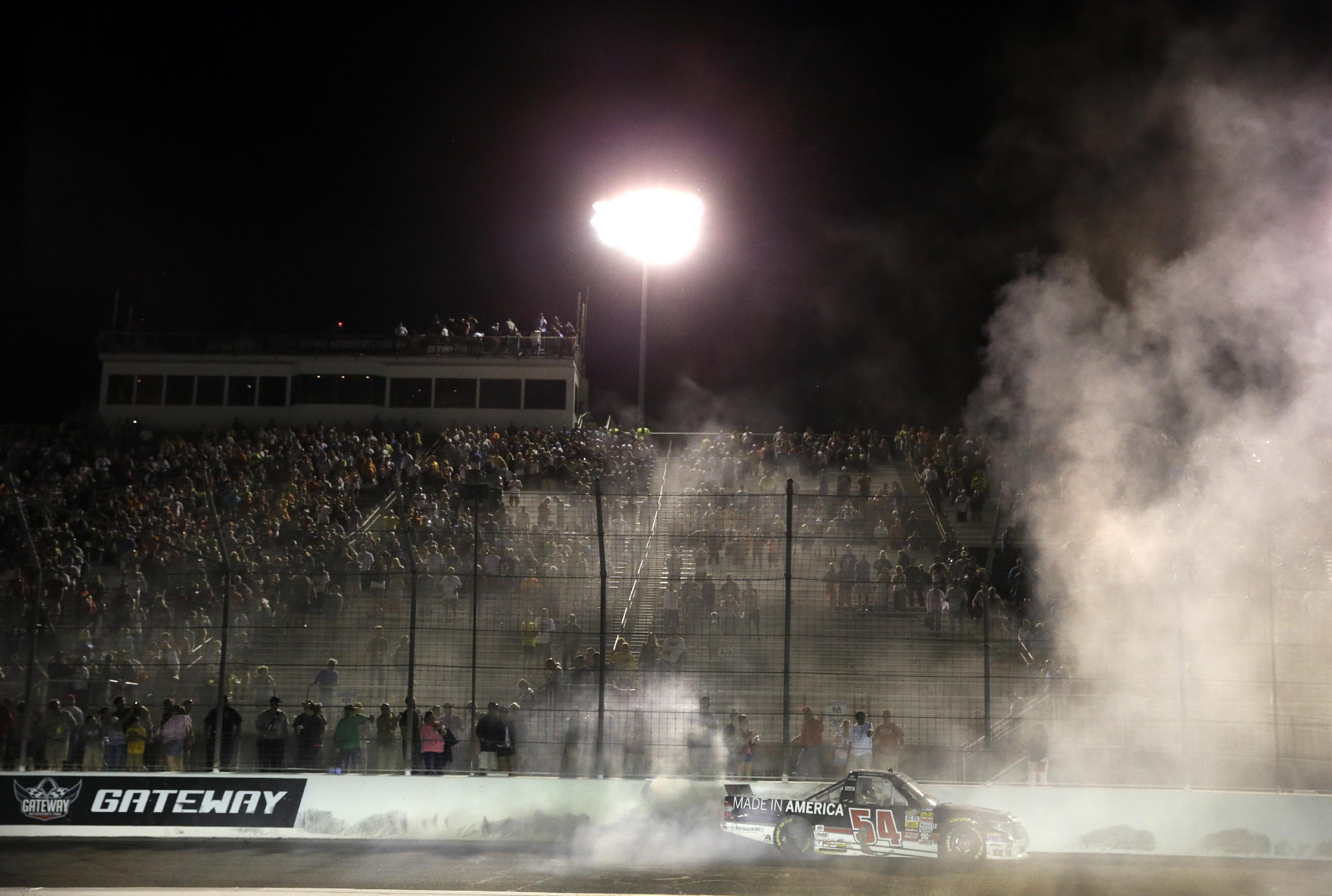 Darrell Wallace Jr. wins NASCAR Truck race