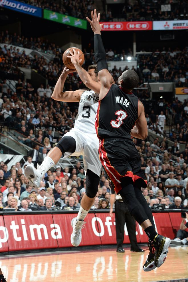 Spurs lead Heat 47-40 at halftime of Game 5