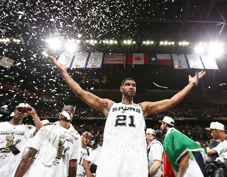 Tim Duncan coming back for Spurs in 2014-15