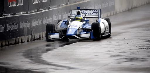 IndyCar fines Houston winner Huertas for penalties