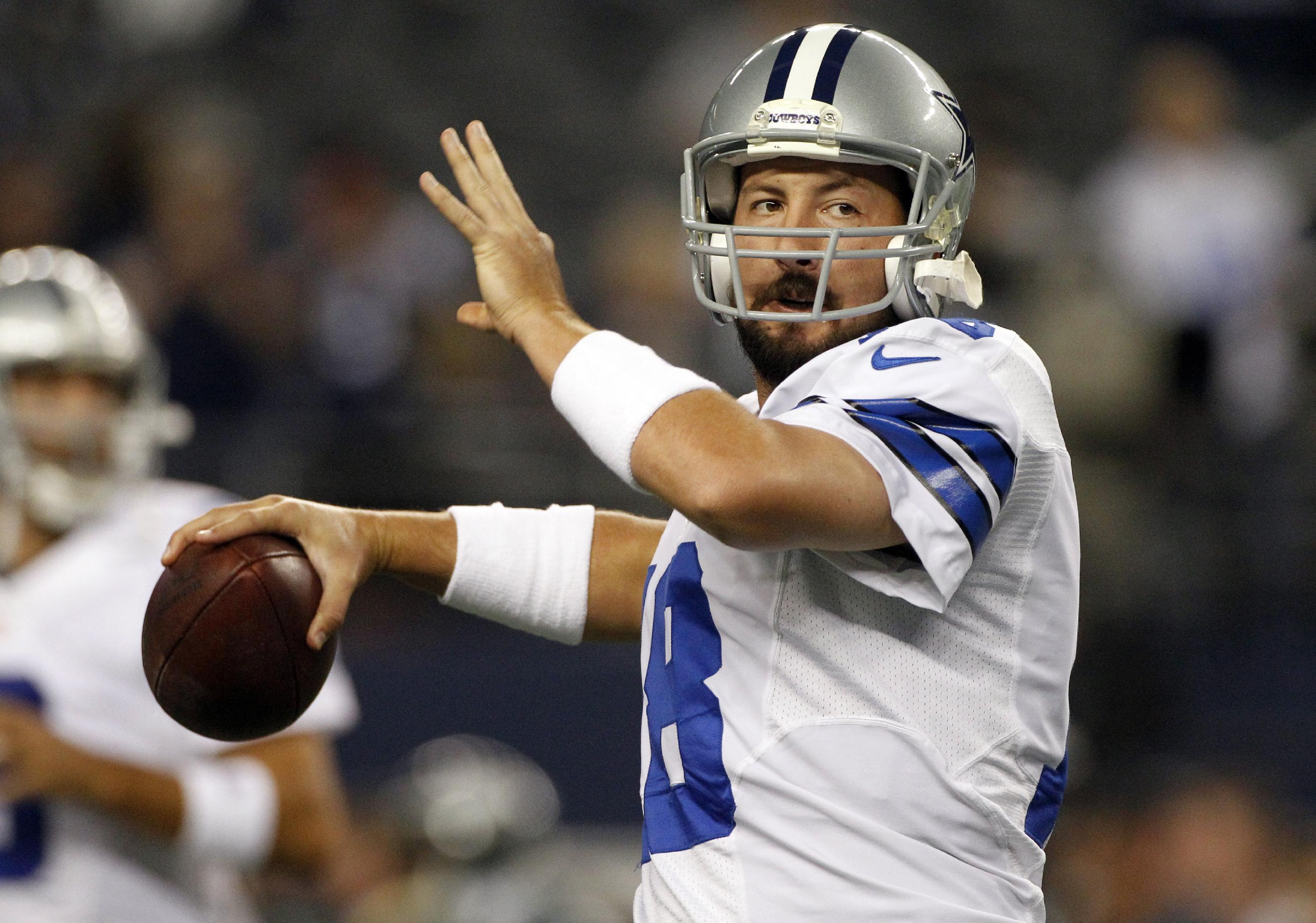 Dallas Cowboys release backup QB Kyle Orton
