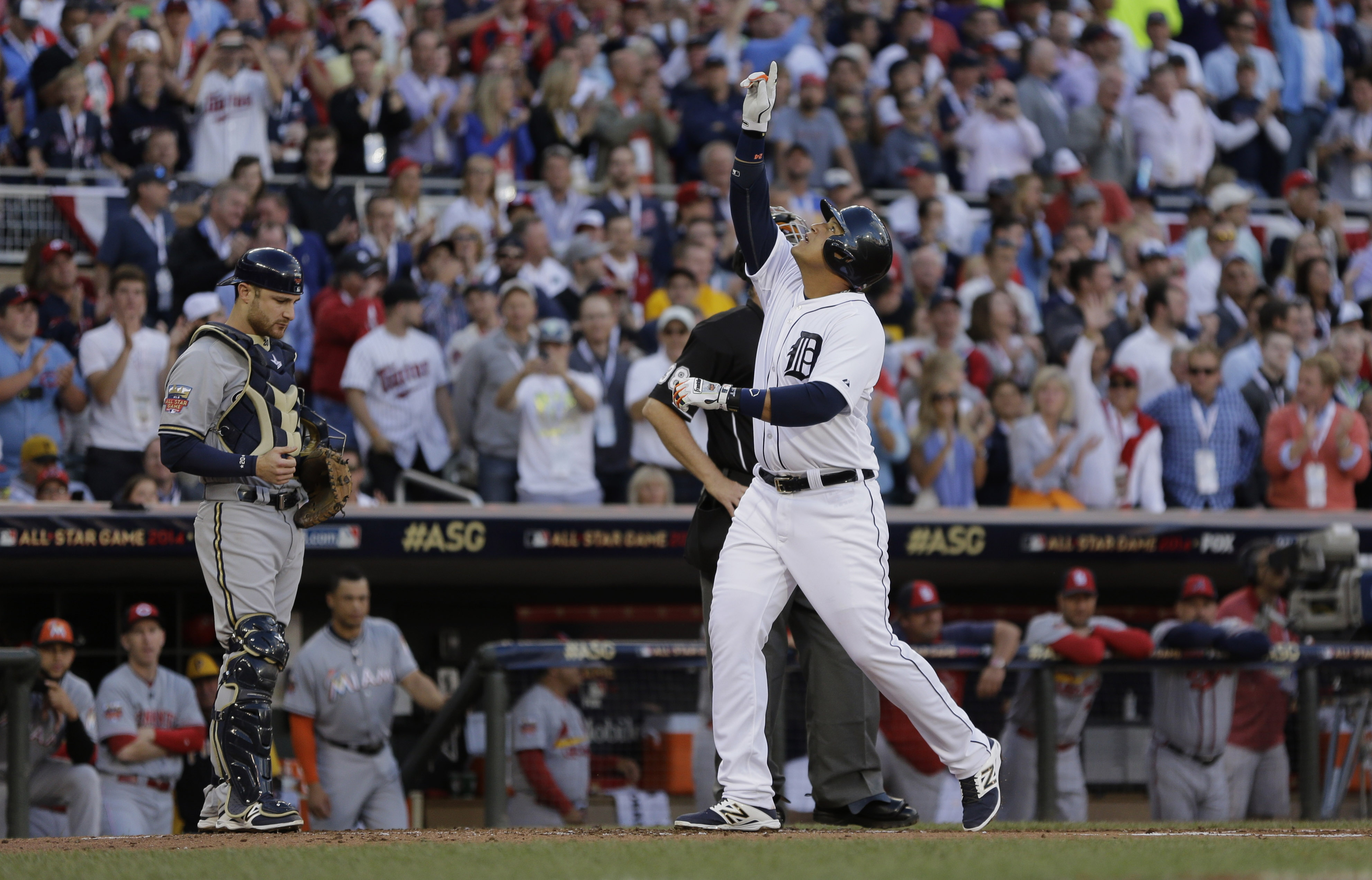 Jeter, Trout lead AL over NL 5-3 in All-Star game