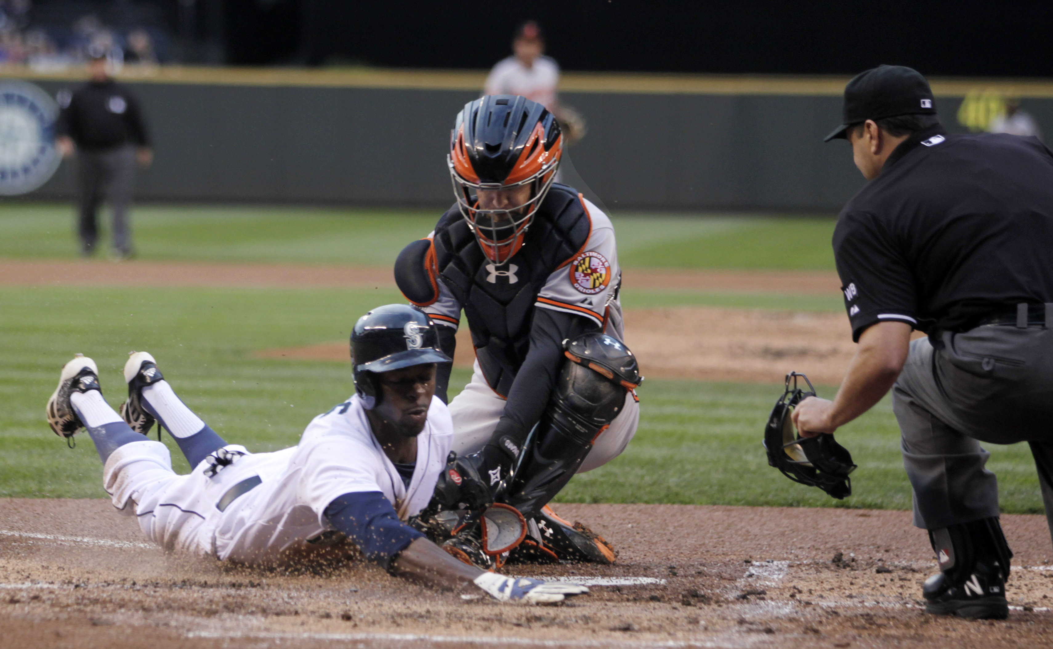 Young hits 3-run homer in Orioles' 4-0 victory