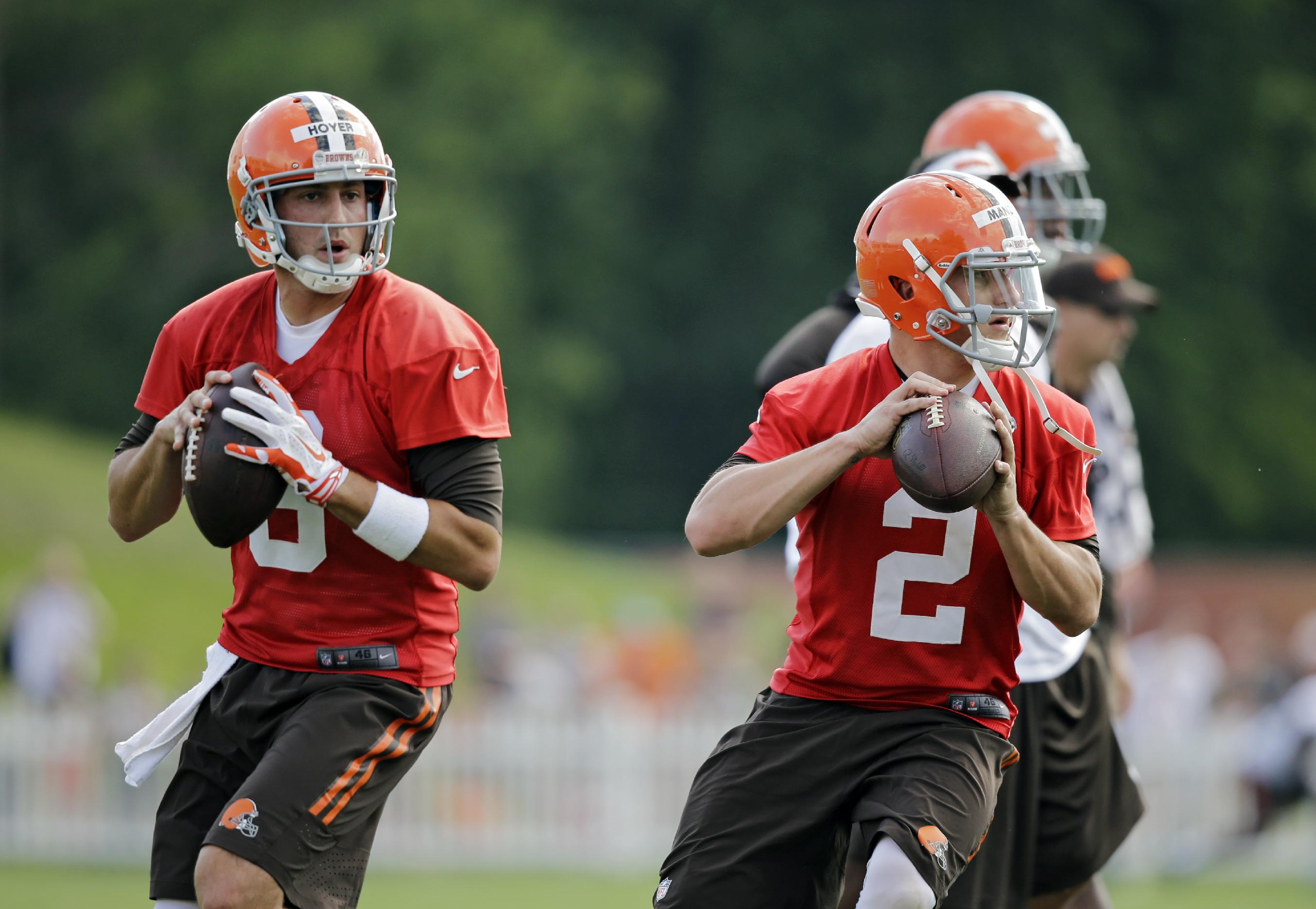 Browns fans flock to see Johnny Football