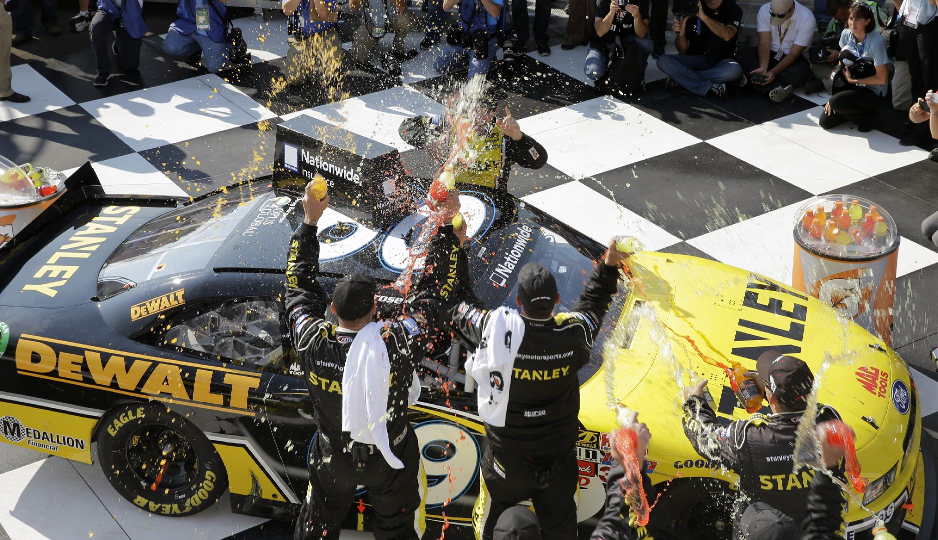 Ambrose wins Nationwide race at Watkins Glen