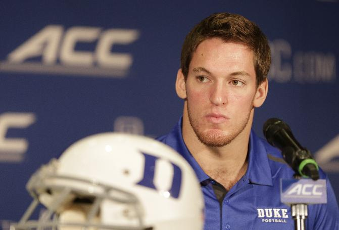 Duke LB Kelby Brown out for year with knee injury