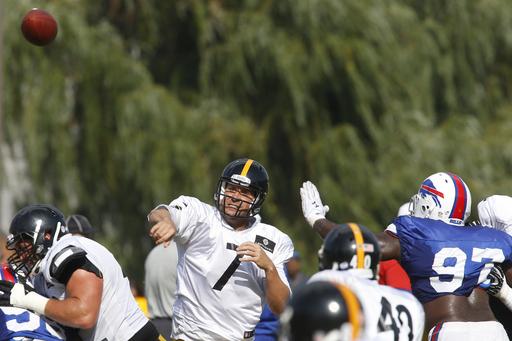 Bills search for progress; Steelers looking to win
