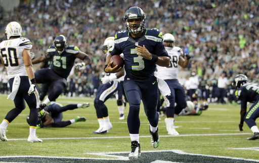 Wilson leads Seattle to 41-14 win over San Diego