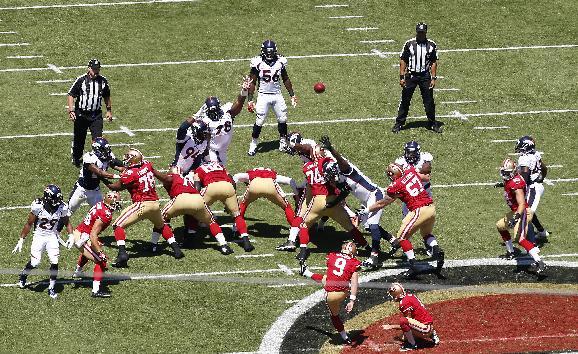 New, longer grass laid at 49ers' Levi's Stadium