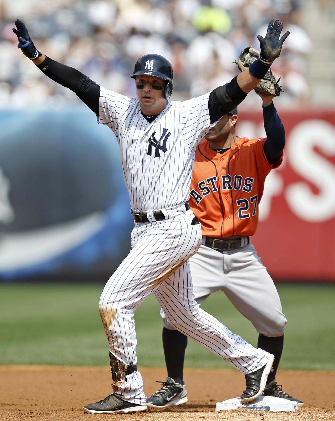 McCarthy, Yankees avoid sweep, beat Astros