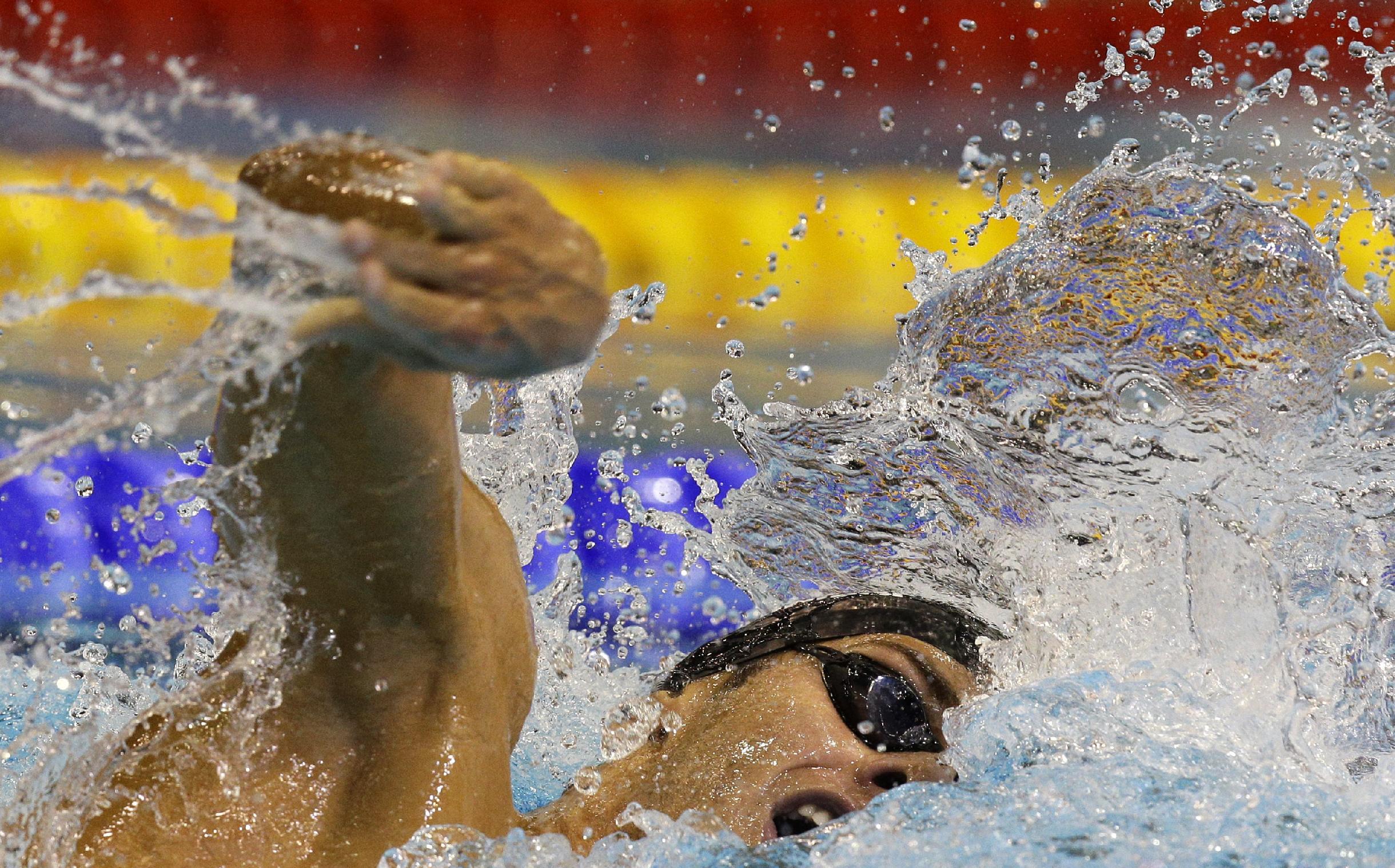 Adam Peaty sets 50 breaststroke swim world mark