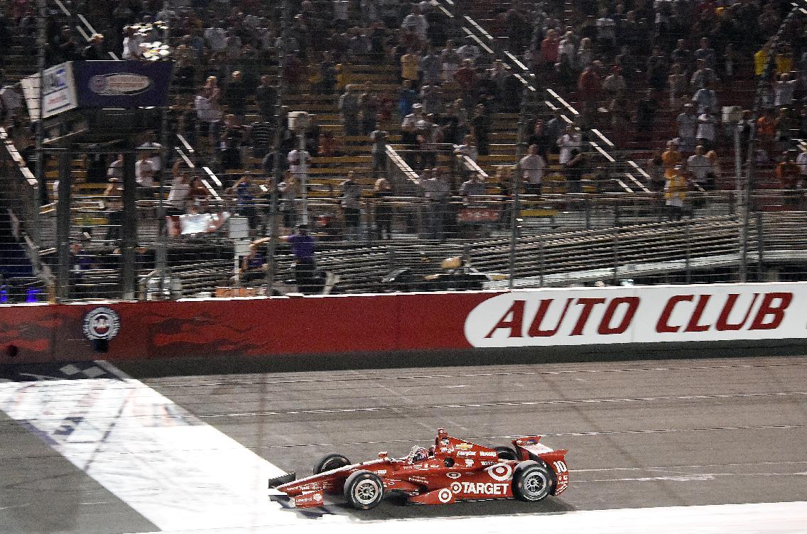 Will Power wins IndyCar series title behind Kanaan