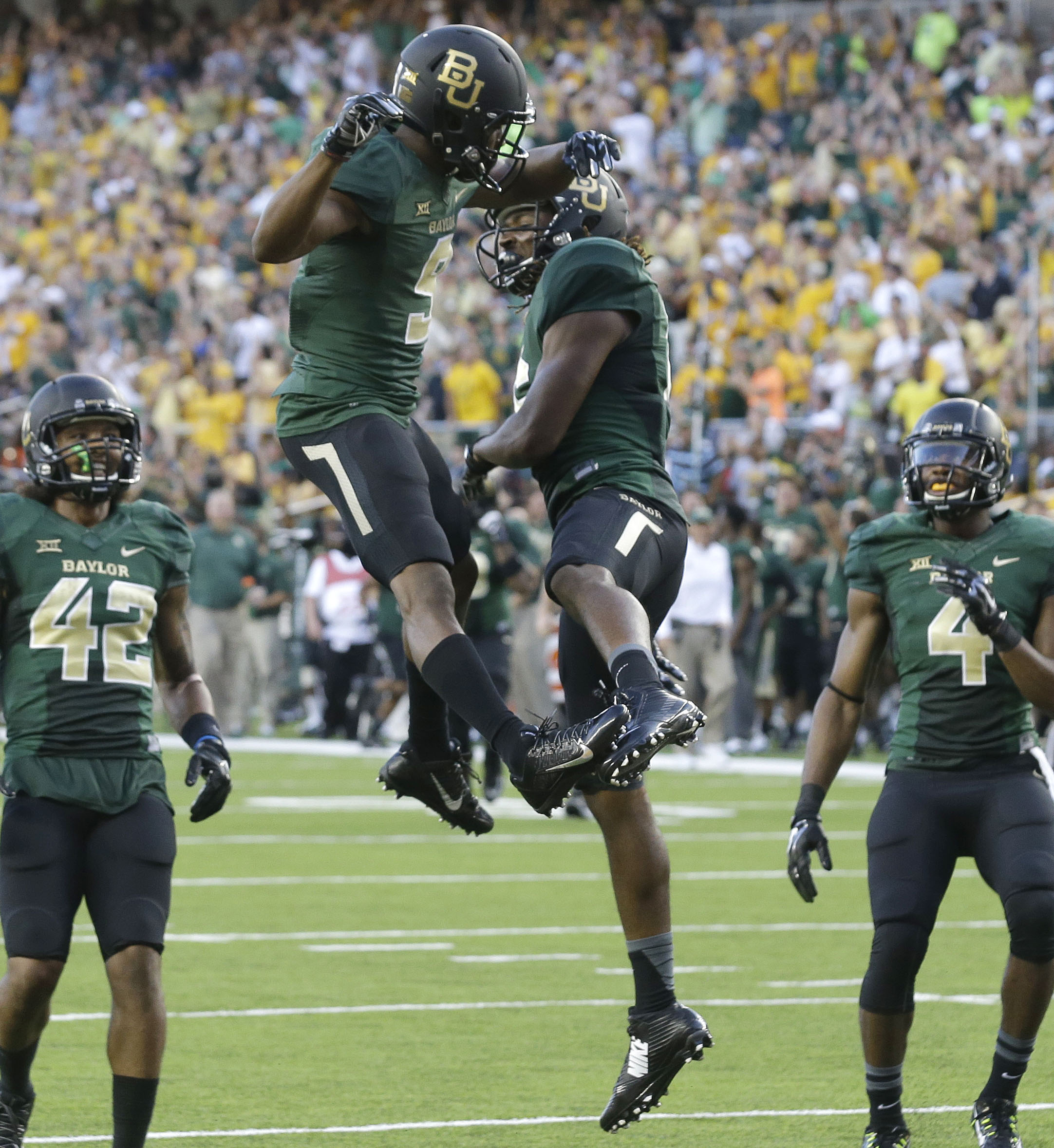 No. 10 Baylor offense early look at young talent
