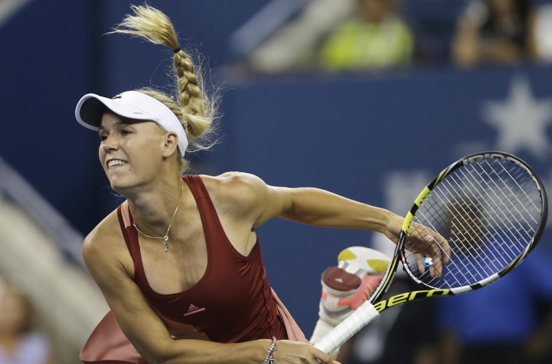 Perfect returns help Wozniacki return to Slam semi