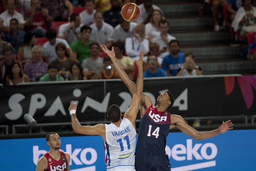 US beats Dominicans 106-71 at basketball worlds