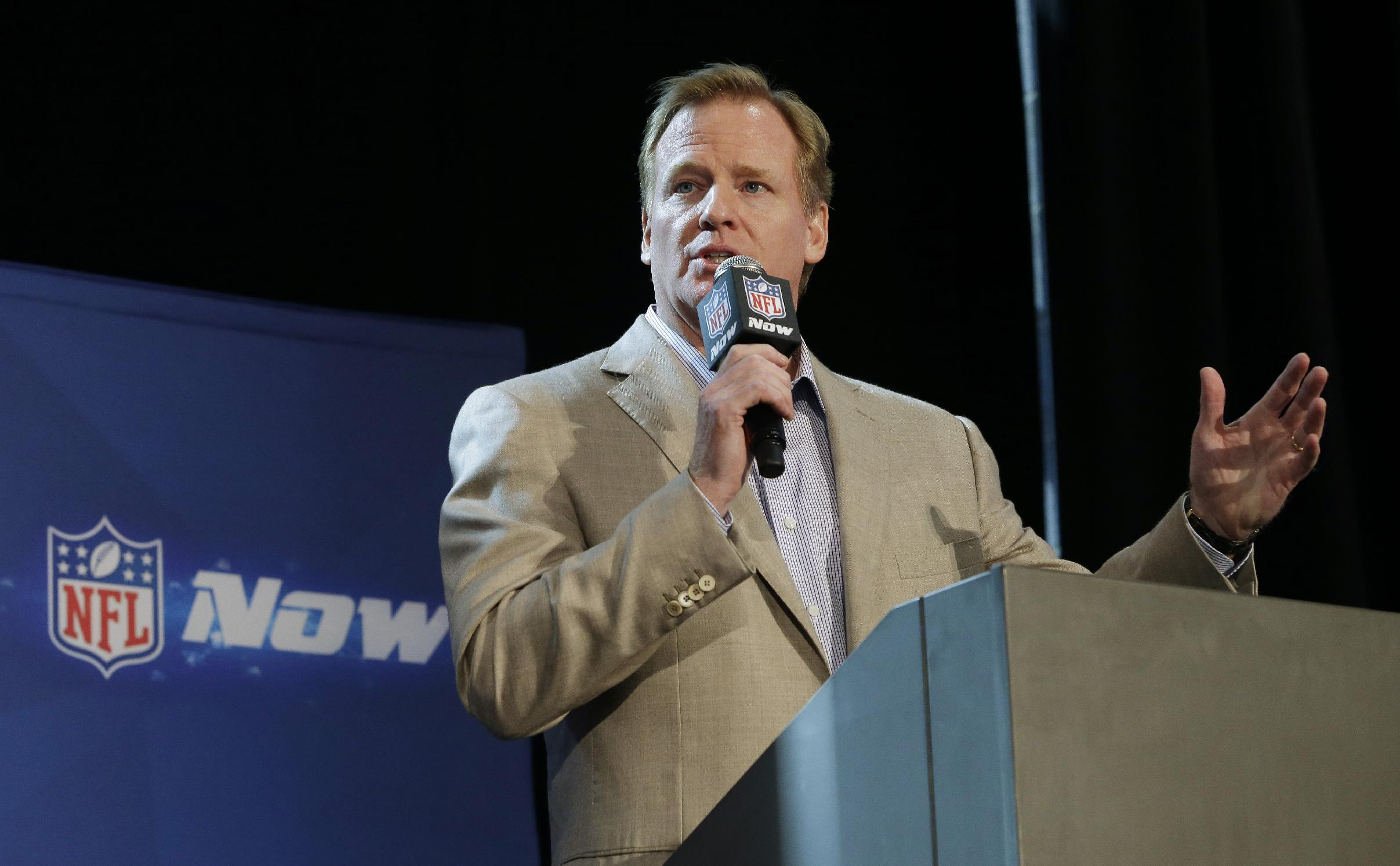 Goodell: NFL closely watching McDonald case