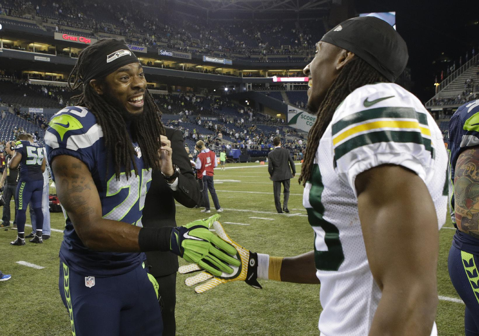 Seahawks dominate Green Bay 36-16 to begin 2014