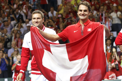 Federer, Swiss into Davis Cup final vs France