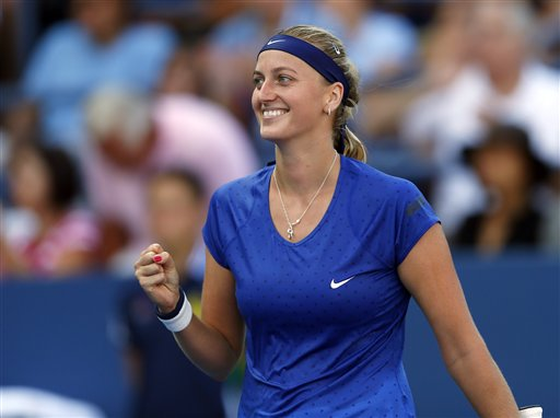 Kvitova tops Bouchard to win Wuhan Open