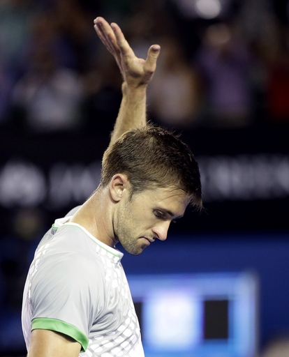 Smyczek's sporting play earns respect from Nadal