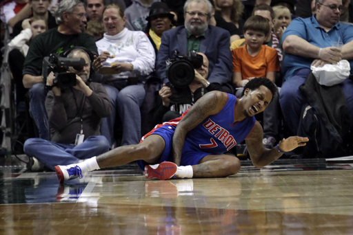 Pistons G Jennings to miss rest of season with injury