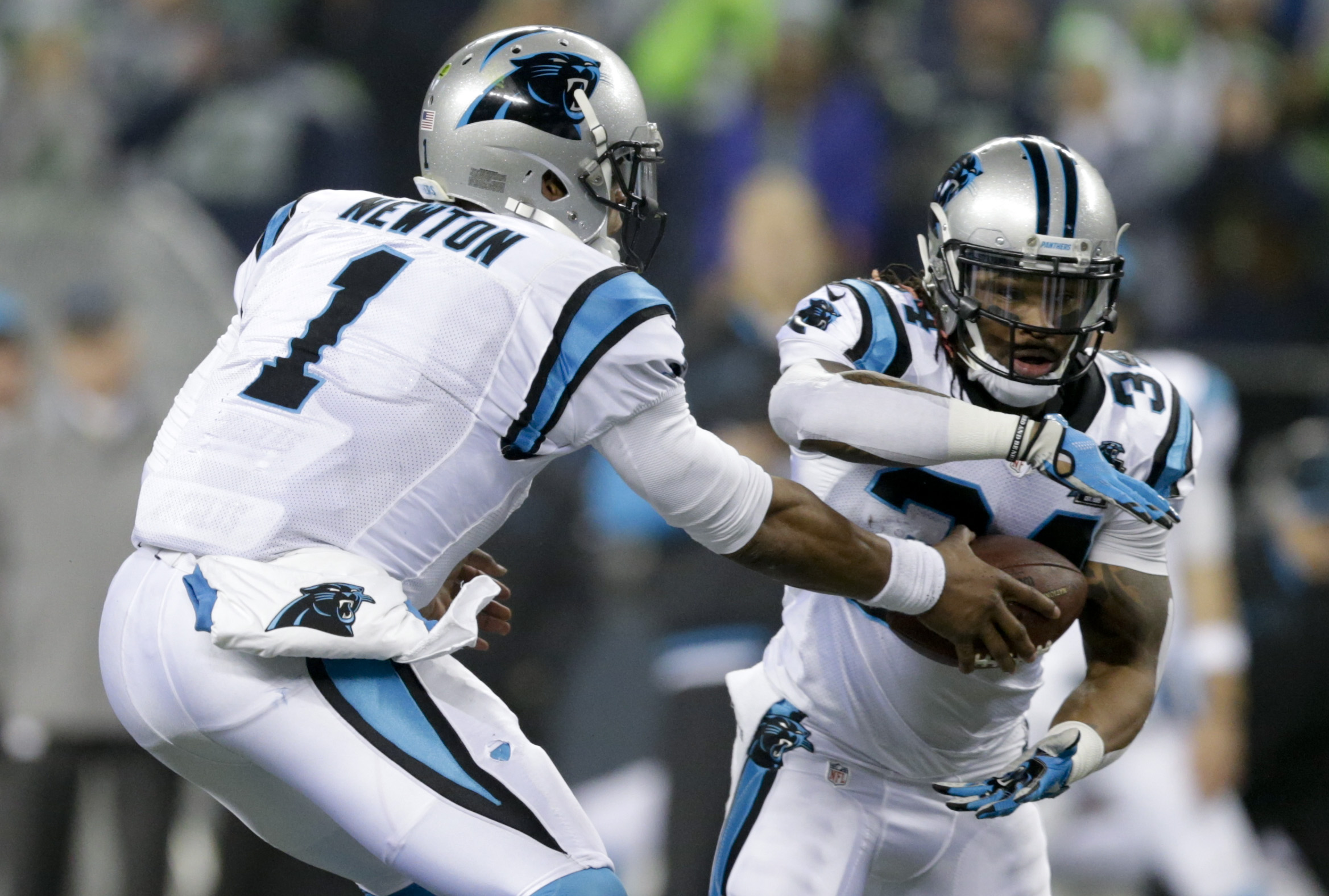 Williams tells TV station Panthers are releasing him