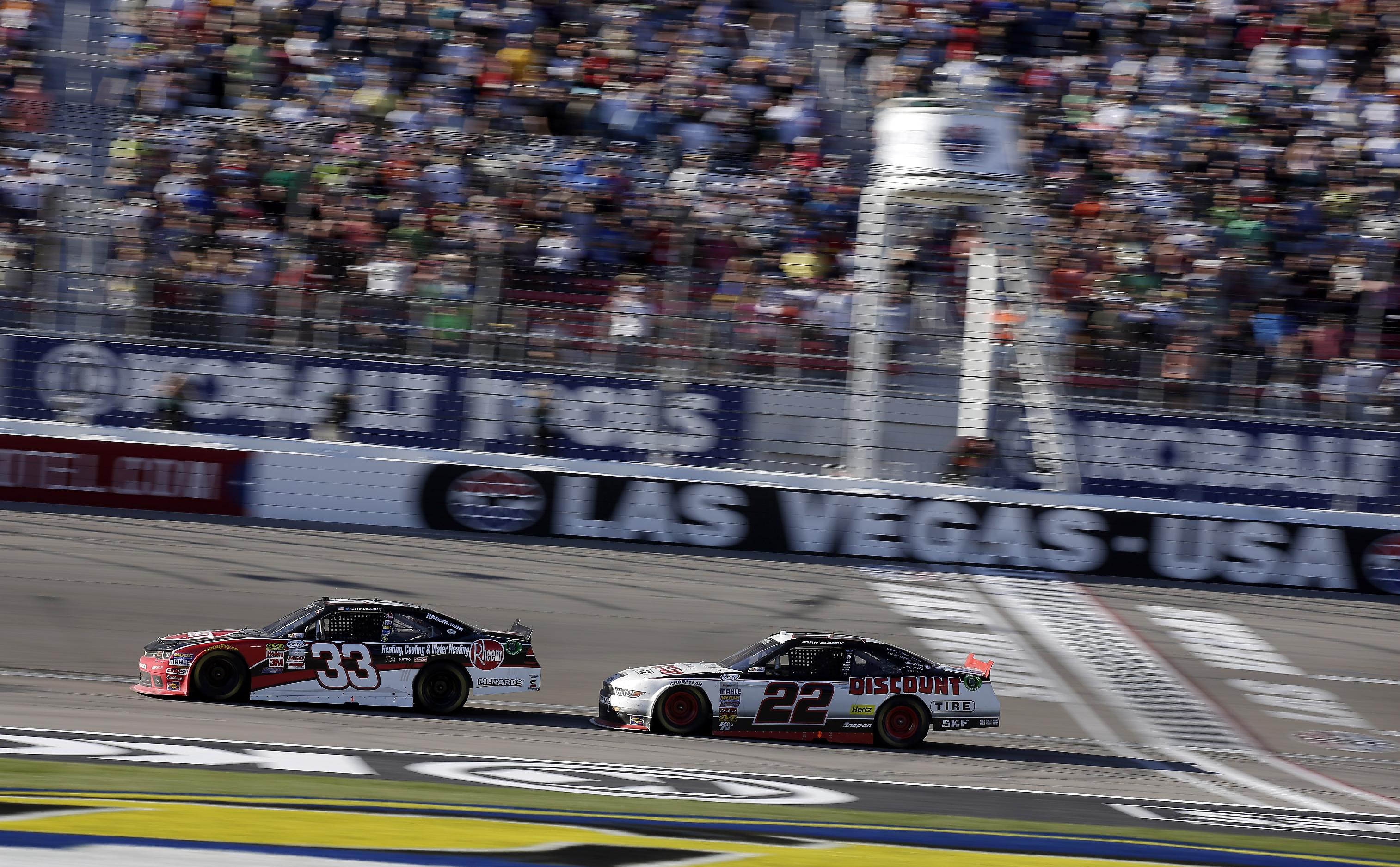 Austin Dillon dominates to win Xfinity race at Las Vegas