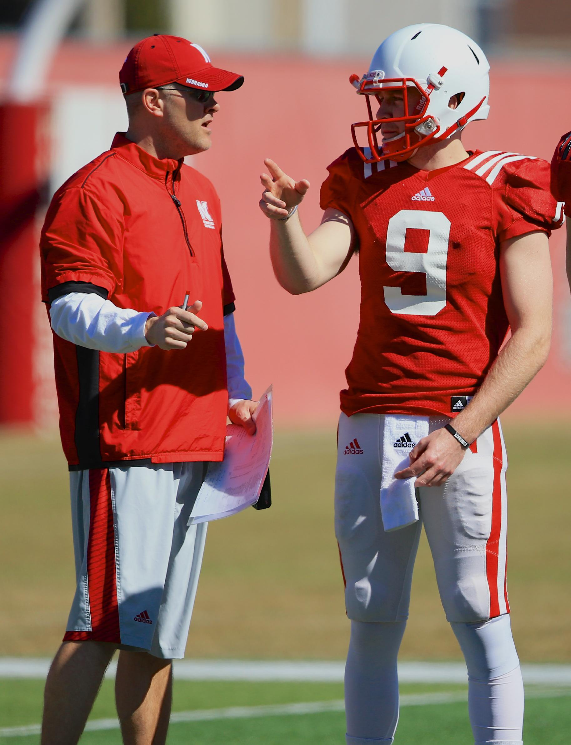 After coaching Eli, Langsdorf must be patient with Huskers