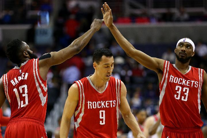 James Harden's 24 points help Rockets beat Wizards 99-91