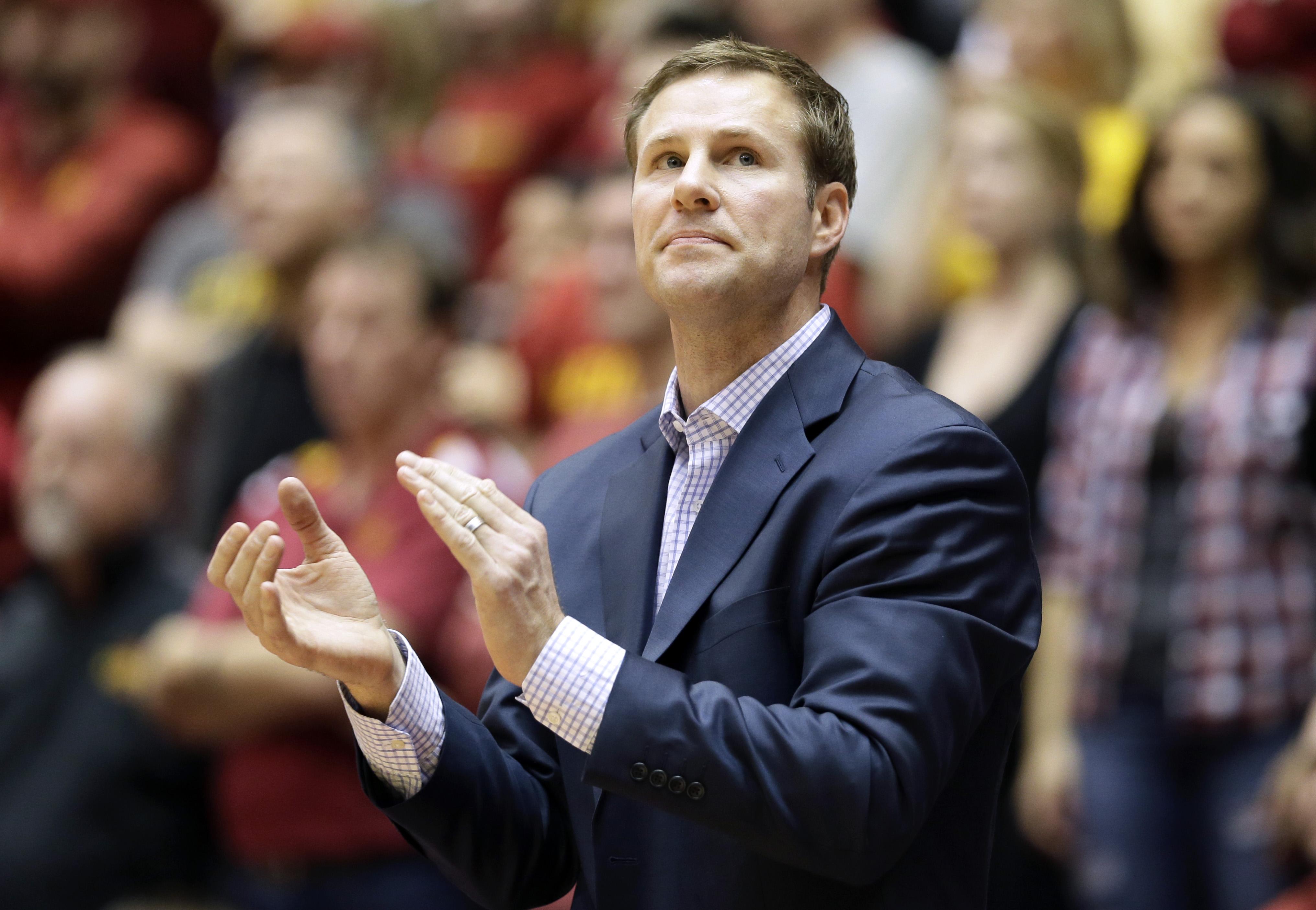 Iowa State basketball coach Fred Hoiberg has heart surgery