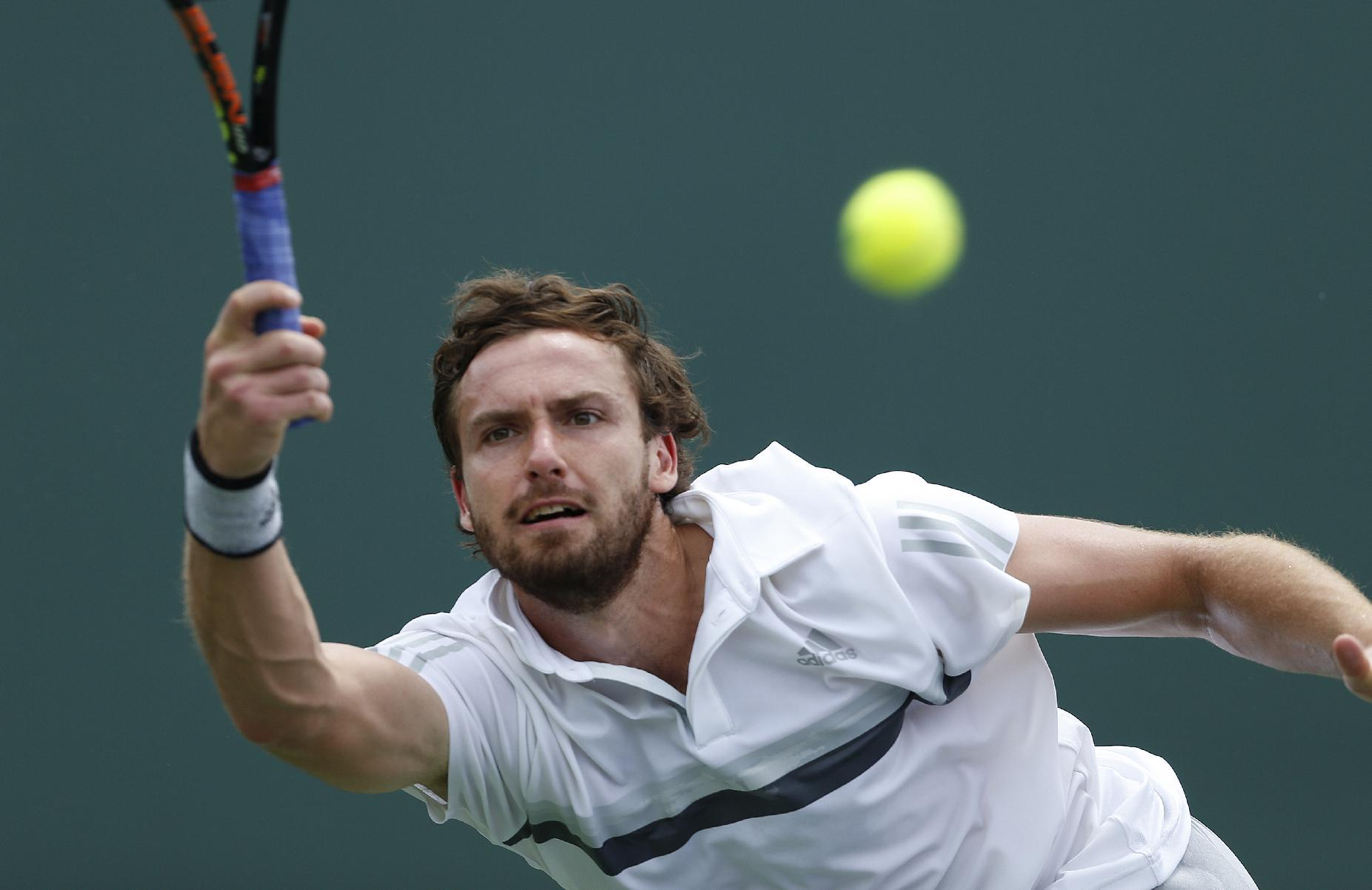 Ernests Gulbis loses in 1st round at Monte Carlo Masters