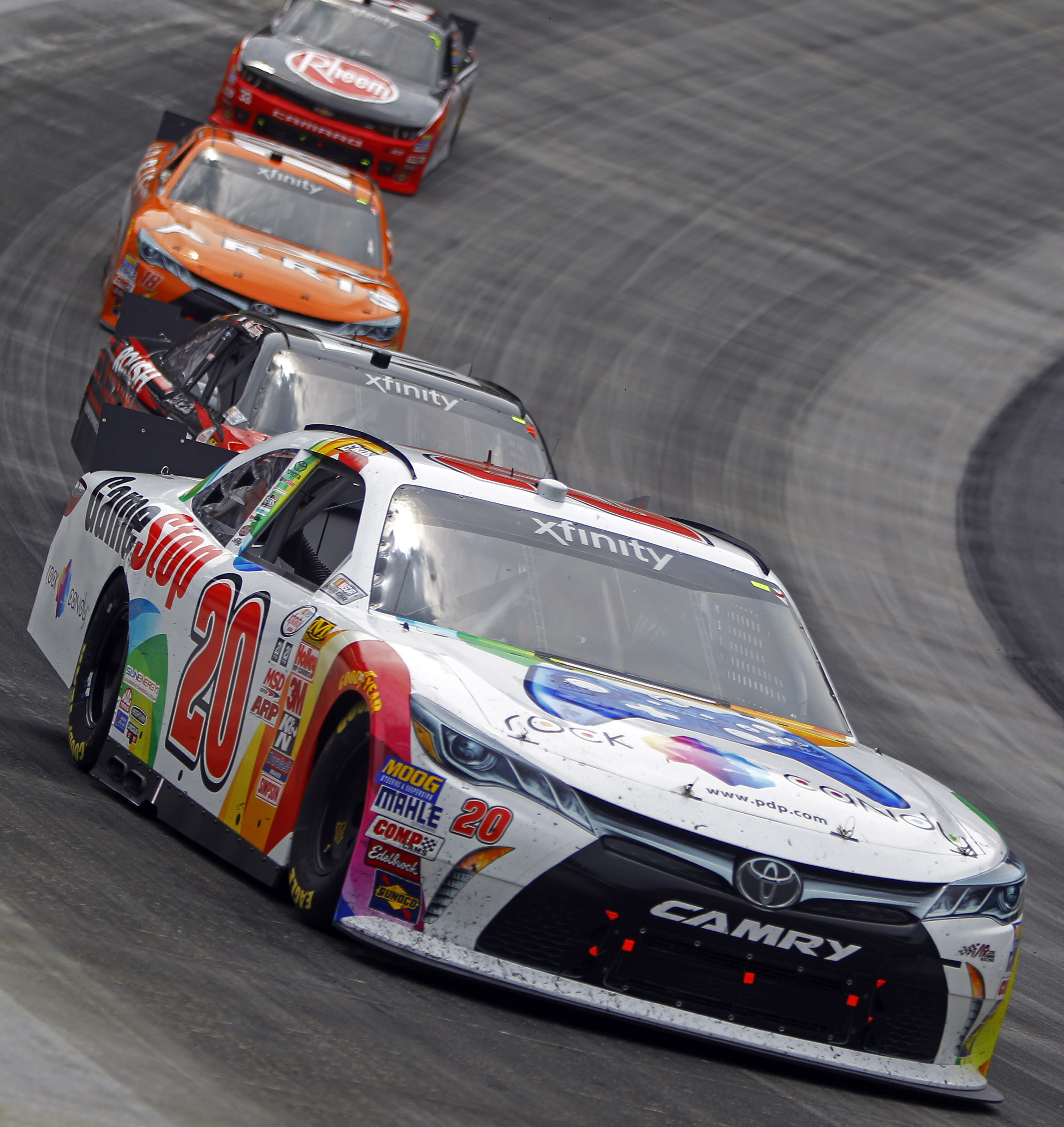 Logano leads flag-to-flag to win Xfinity race at Bristol