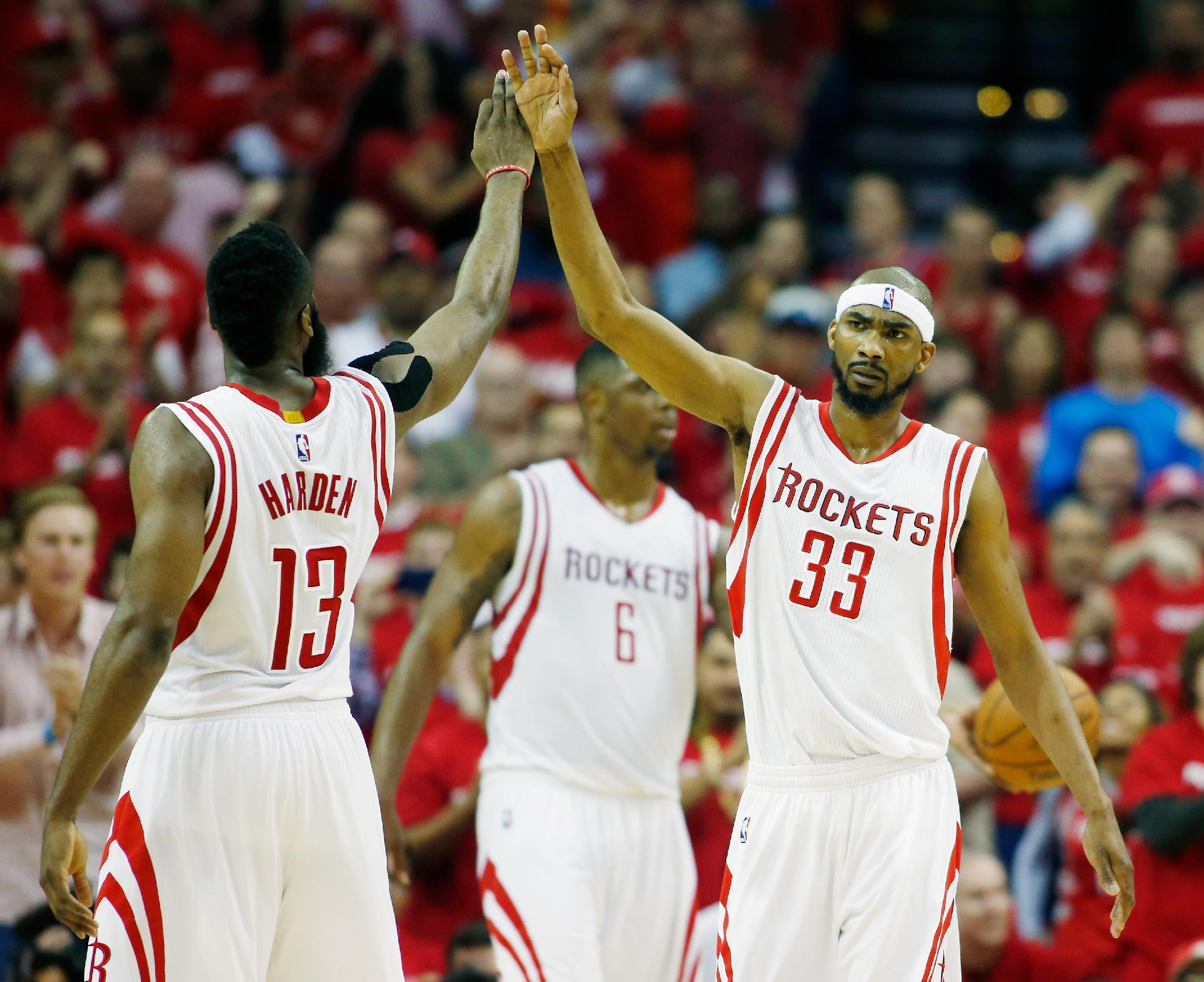 Harden has 24 points, Rockets beat Mavs 118-108 in Game 1