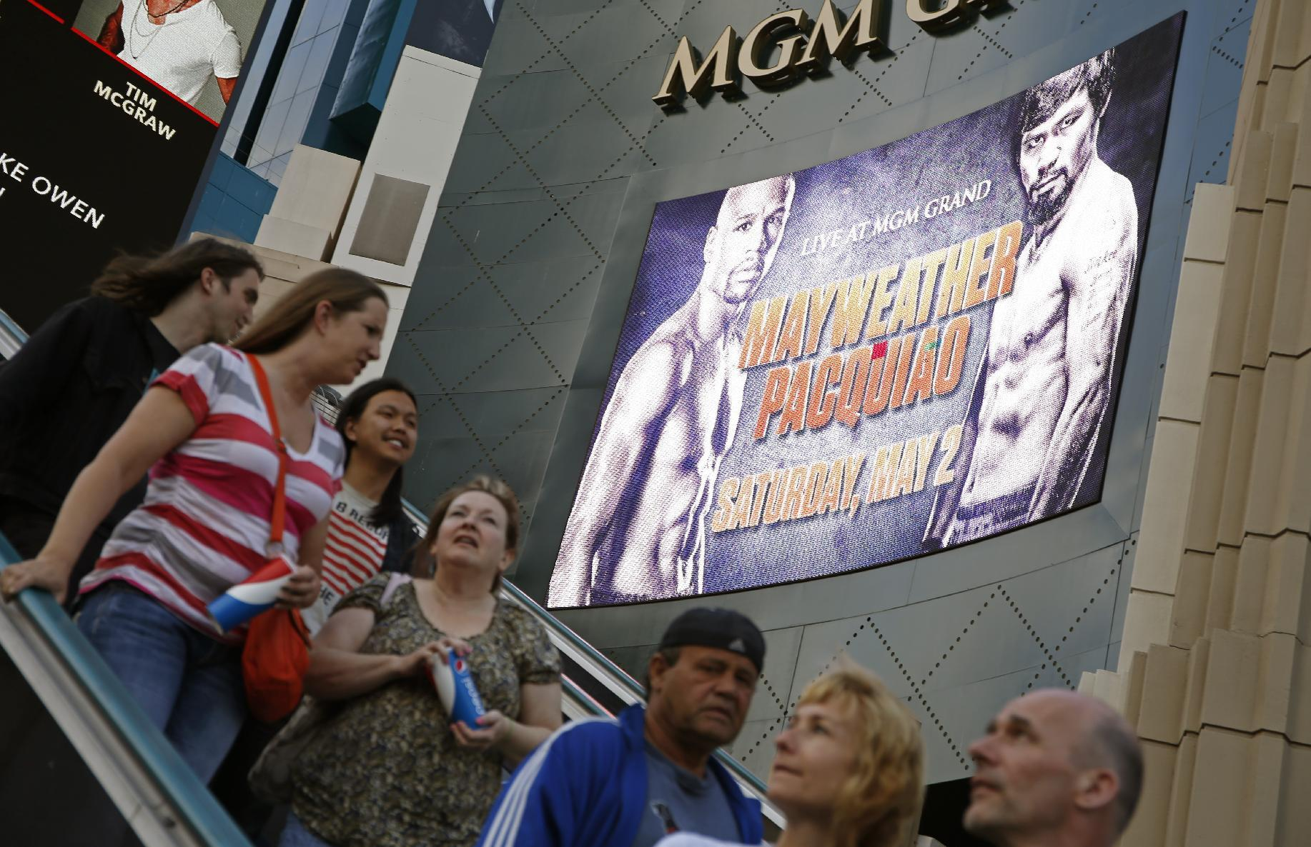 Las Vegas bullish on Mayweather-Pacquiao megafight