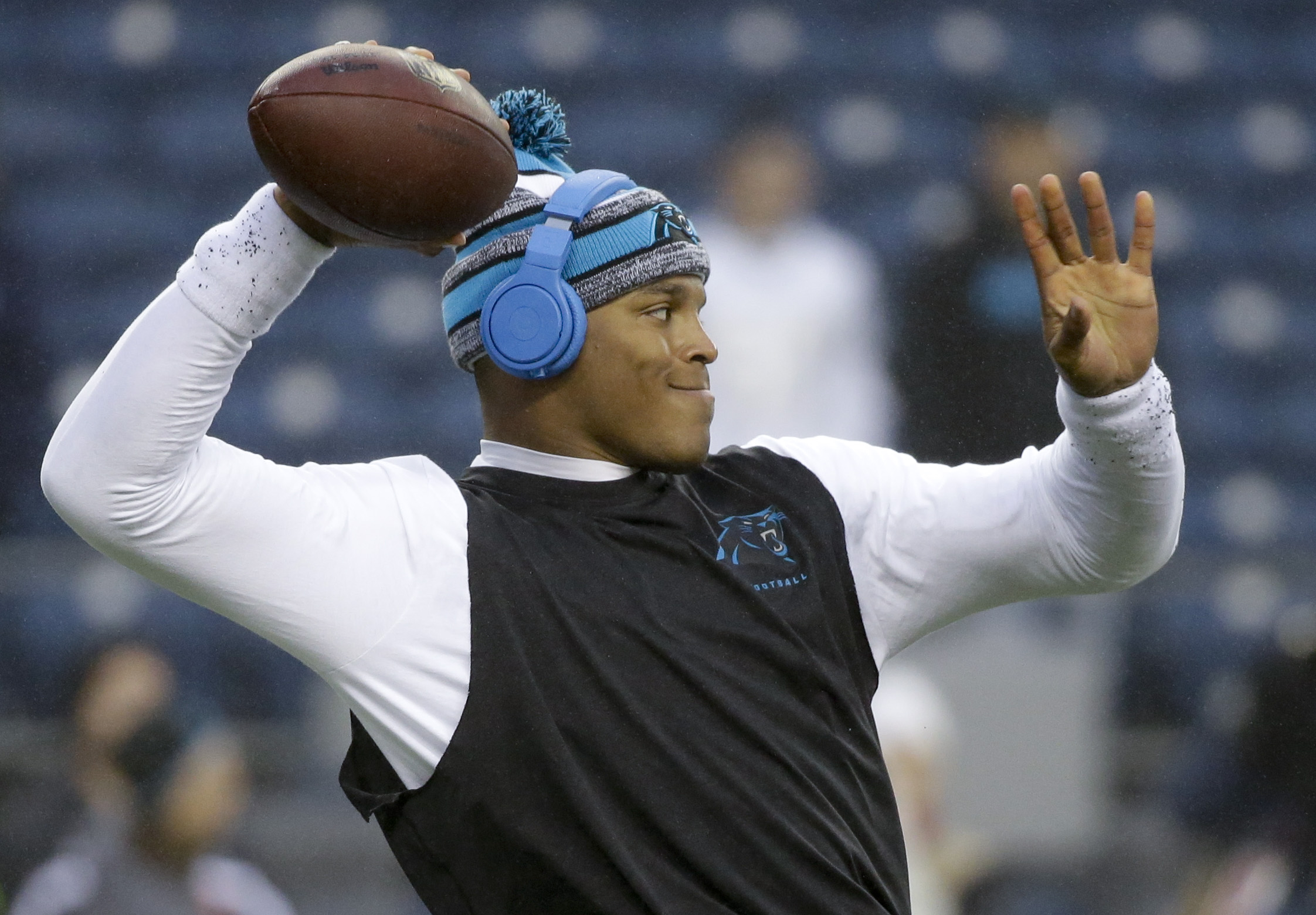 Panthers' Cam Newton ready for spring, summer workouts