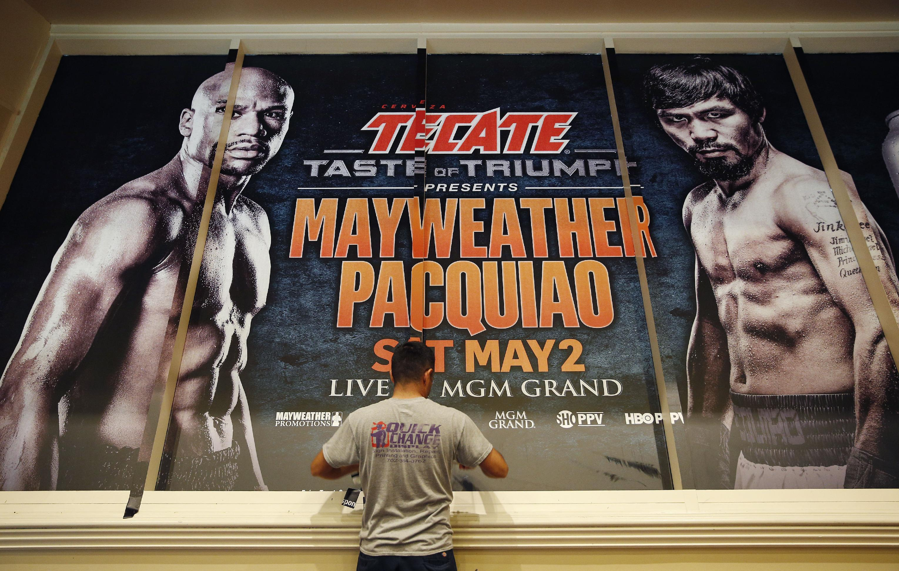 It's here: Fight week begins with Pacquiao caravan to Vegas