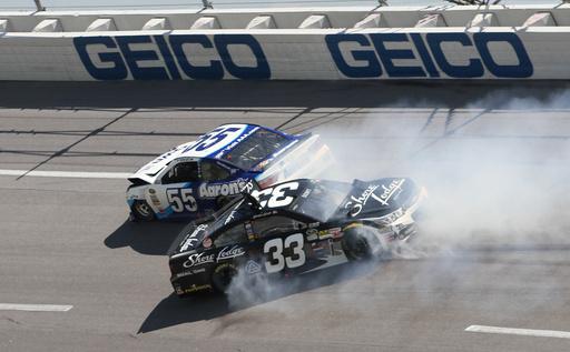 NASCAR briefly halts race after 14-car accident at Talladega