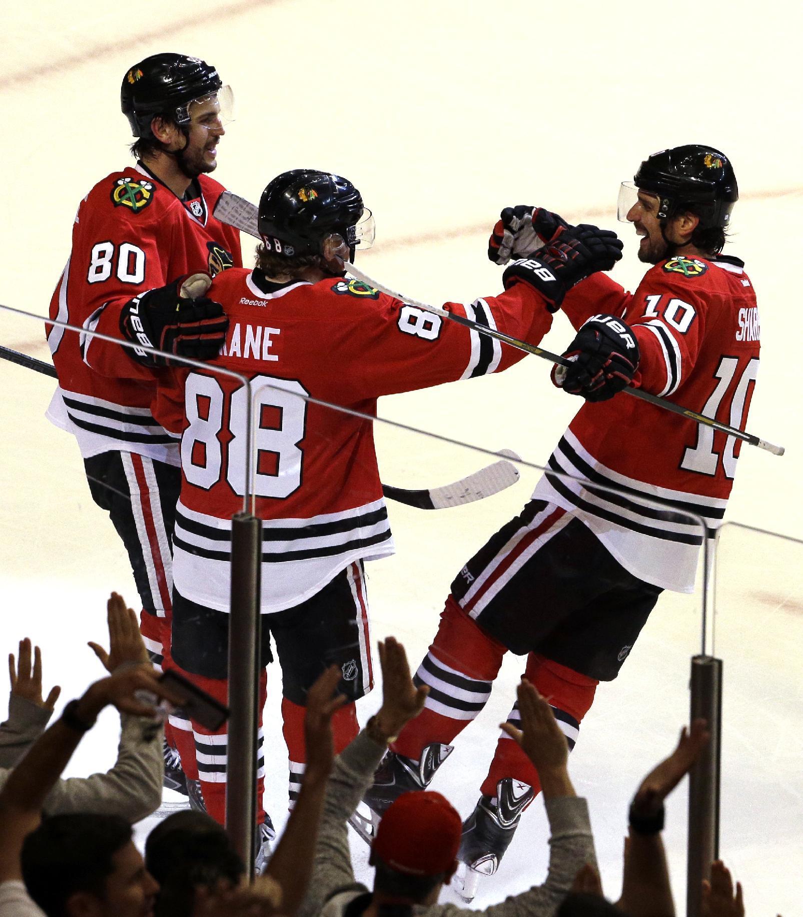 Kane leads Blackhawks past Wild 4-1
