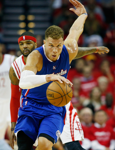 Griffin's triple-double lifts Clippers over Rockets 117-101