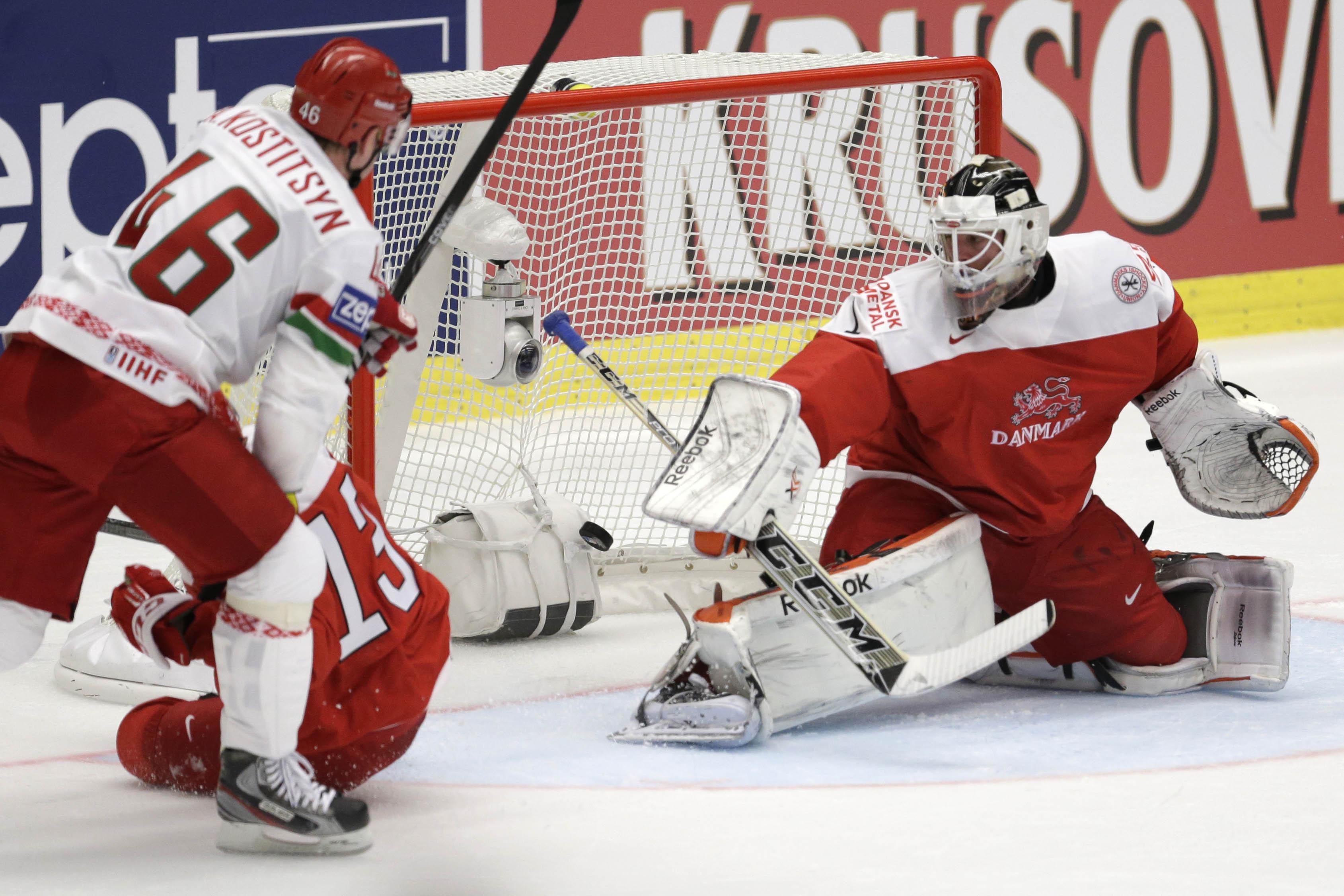 Switzerland, Belarus earn 2nd victories at ice hockey worlds