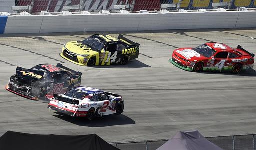 Buescher wins Xfinity race at Dover International Speedway