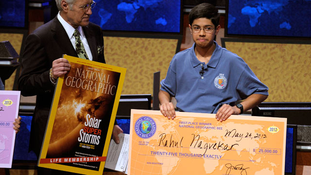 Texas Teen Wins National Geographic Bee